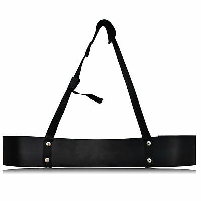 Bicep Isolator Arm Blaster Bombe Barbell Bar Weight Lifting Straps Training BLK