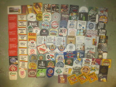 103 different Australian BREWERIES collectable BEER COASTERS
