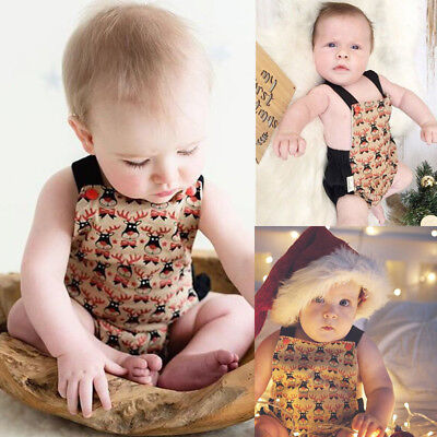 Cotton Baby Boy Girl Unisex Clothes Summer Romper Bodysuit Playsuit Outfits