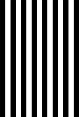 UK Black White Stripe Wall Photo Backdrop Studio Decoration Background 5x7ft