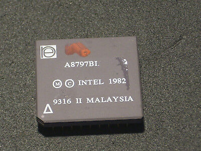 Intel CPU  A8797BI MALAY 9316 II CAX  Raritet /Seltenheit