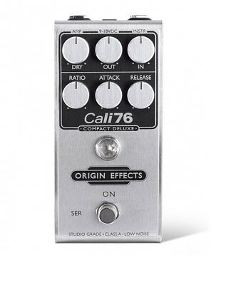 Origin Effects Cali76 Compact Deluxe Pedal insured & trackable shipping