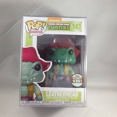 Leatherhead TMNT Funko Pop #543 Specialty Series Exclusive with Pop Protector