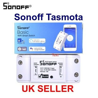 2018 SONOFF BASIC FLASHED TASMOTA MQTT Smart Home Wifi switch