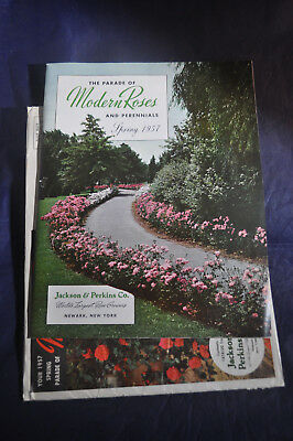 1957 *NEAR MINT*  Parade of Modern Roses & Perennials- Jackson & Perkins Catalog