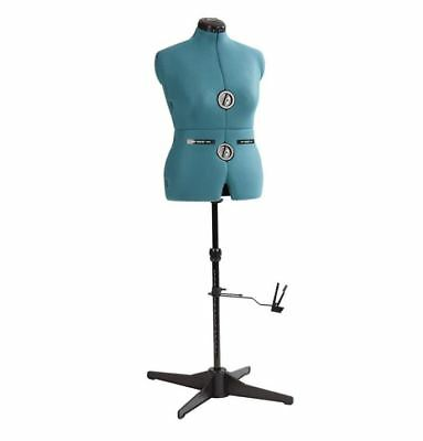 Female Adjustable Sewing Form Fashion Dressmaker Pinnable Mannequin Torso Stand