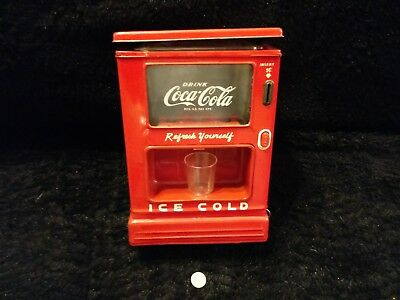 Linemar Marx Coke Coca Cola Coin Battery Operated Dispenser Bank Nice. .....l@@k
