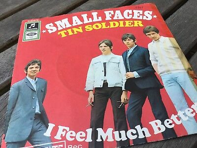 "Small Faces Tin Soldier I feel much Better 7"" columbia"