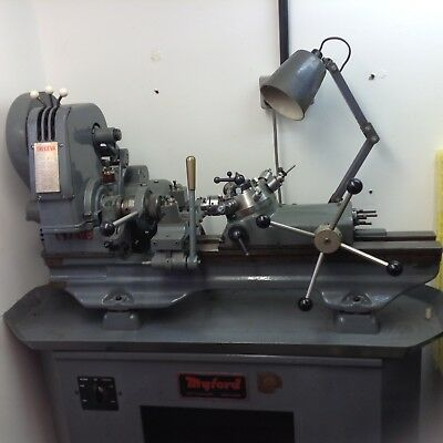myford c7 capstan lathe and tooling