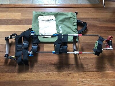 """The Reel Splint """"Tactical System"""" Splint Traction and Extraction Adult (used)"""