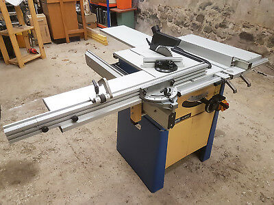 Scheppach TS2010 240V Professional Precision German Table Saw With Sliding Table