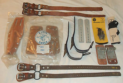 Klein Tools Pole Tree Climber Parts & Accessories Lot