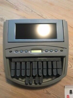 Stenograph elan Mira A3 Steno Writer with Audio Sync New Batteries Accessories
