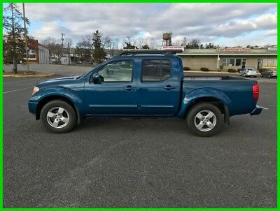 Nissan Frontier SE 2005 NISSAN FRONTIER LE CREW CAB  V6 24V Automatic 4WD Pickup Truck