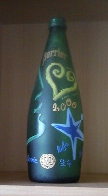 Bouteille d'eau PERRIER 2000 - 75 cl - vide - collection