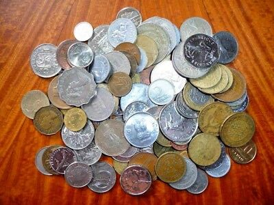 Mixed Lot of International Coins (1 lb.) Current/Obsolete/Circulated #46