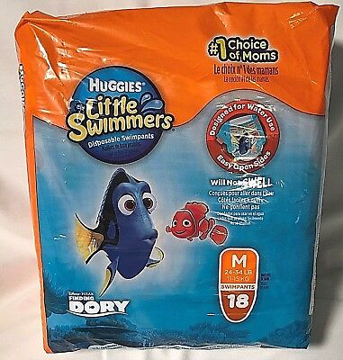 Huggies Little Swimmers M 18
