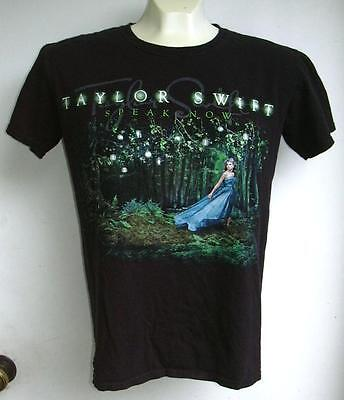 "Taylor Swift concert T-shirt ""Speak Now""  size small"