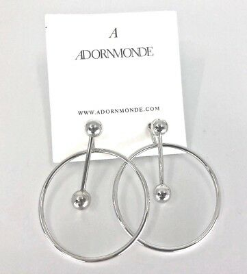 NEW-  Adornmonde Silver Earrings - $62 RV