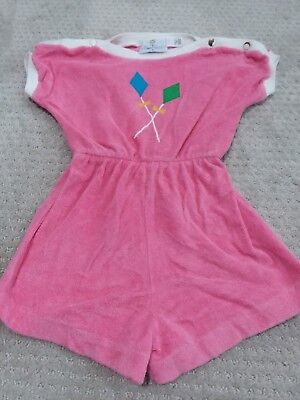 Florence Eiseman pink swimsuit cover-up