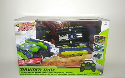 Air Hogs Thunder Trax RC Vehicle Remote controlled Transforms Tank Boat Toy NEW