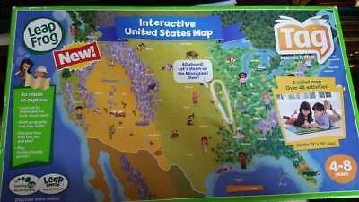Leapfrog tag interactive world map 2 sided learning path leap frog leapfrog leapreader interactive world map works with tag gumiabroncs Gallery