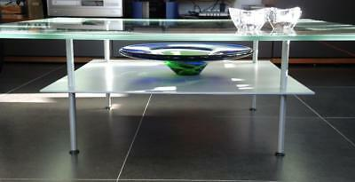 LIGNE ROSET Glass Coffee Table by Designer Jean-Pierre Cailleres ...