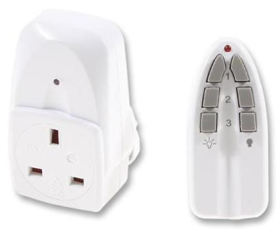 13A wall socket with remote control, eco-friendly, saves energy saves money
