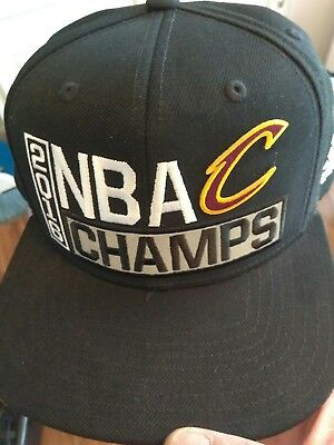 2016 NBA Champs Finals Cavs snapback hat Cleveland Cavaliers in Hand  Authentic! 491b01defd9