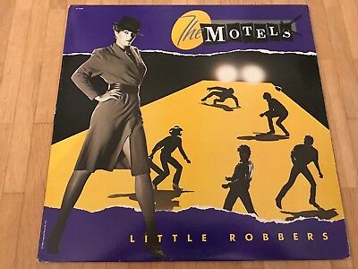 The Motels ‎– Little Robbers VINYL LP Capitol ST-12288