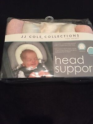 JJ Cole Head Support Pink