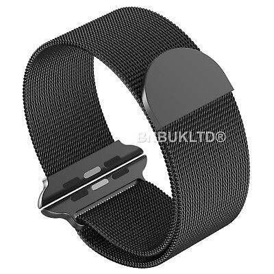 For Apple Watch Series 1/2 & 3 Luxury Milanese Loop Band Strap
