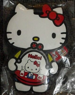 Hello Kitty 40th Anniversary loungefly luggage tag