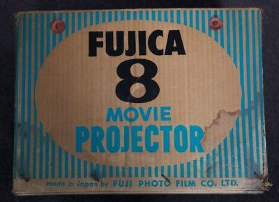 FUJICA 8 Movie Projector   8mm  Made in Japan    vintage; top quality;