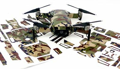 Camo Green Drone Decal Skin Wrap Stickers for DJI Spark, Mavic Air, Mavic Pro