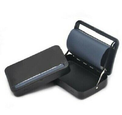 King Size Black Automatic Cigarette Tobacco Smoking Rolling Machine Roller Box