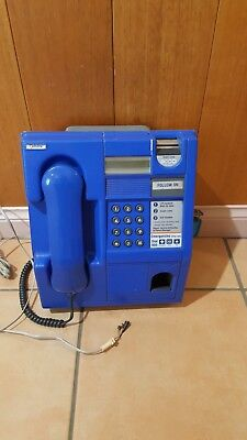 blue coin pay phone - telstra