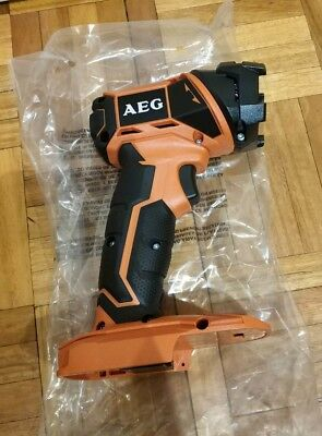AEG 18V Compact LED Torch FL18-0 - Brand New! Skin Only!