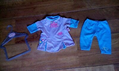 Zapf Baby Annabell Puppenkleidung Set 43 cm