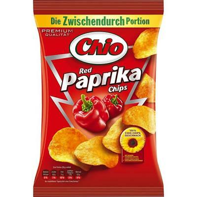 (11,32 €/kg) Chio Chips Red Paprika 12x 50g