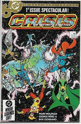 Crisis On Infinite Earths U-PICK ONE #1 or 7 DC 1985 Issues PRICED PER COMIC