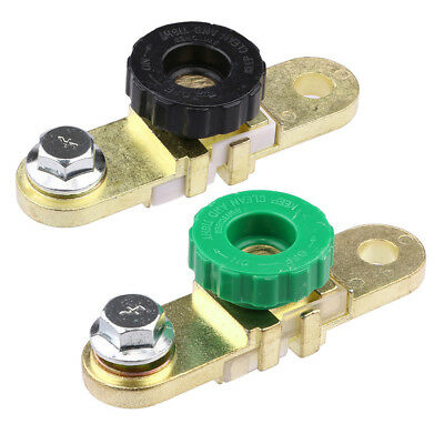 Brass Side Mount Car Auto Side Post Battery Master Disconnect Cut Off Switch New
