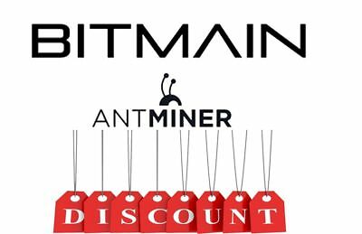2500$ discount for all Bitmain Antminers!!