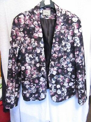 Women's Blazer, Jacket. Size 16. Floral. Excellent Used Condition!