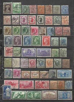 Q926-Lote Stamps Ancient Classics Countries Europe Without Price,