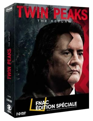 Twin Peaks The Return Edition spéciale Fnac DVD 10 dvd