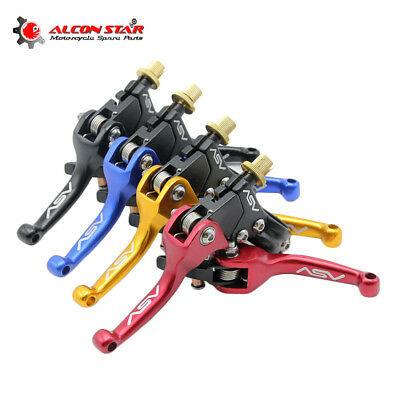 Aluminum ASV F3 Series Long Clutch Brake Folding Lever Fit Motorcycle Dirt Bike
