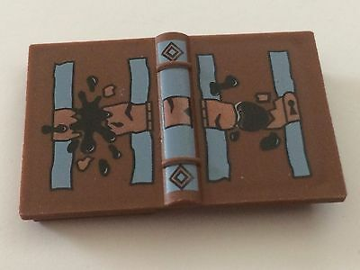 Tom Riddle's Diary! Lock and Soiled Spots Pattern! Genuine Harry Potter LEGO New