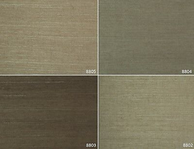 SAMPLES Genuine Grasscloth Wallpaper and Faux Grasscloth Wallpaper