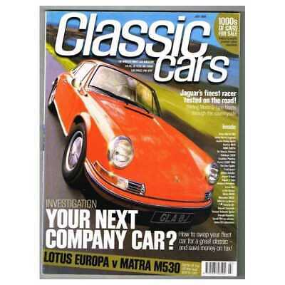 Classic Cars Magazine July 1999 MBox3325/E Your next company car? - Lotus Europa